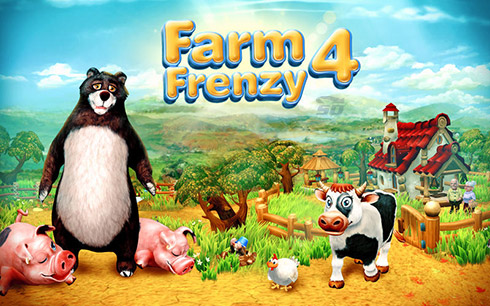بازی عشق مزرعه داری (برای کامپیوتر) - Farm Frenzy 4 PC Game