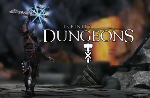 بازی عبور از سیاهچال (برای اندروید) - Infinity Dungeon 1.2 Android