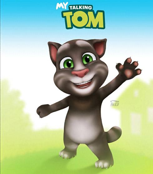بازی گربه سخنگو (برای اندروید) - My Talking Tom 3.2.2 Android