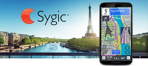 نرم افزار نقشه سایجیک به همراه نقشه شهرهای ایران و گوینده فارسی (برای اندروید) - Sygic 16.0.8 Android
