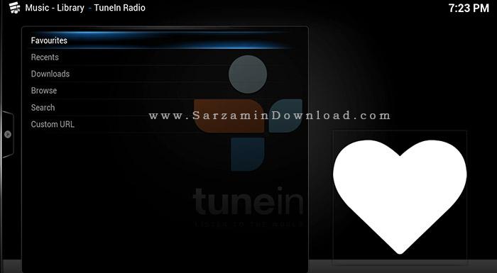 نرم افزار رادیو اینترنتی (برای اندروید) - TuneIn Radio Pro 15.1 Android