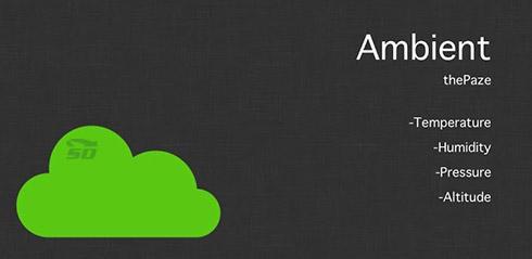نرم افزار رطوبت سنج (برای اندروید) - Ambient Android