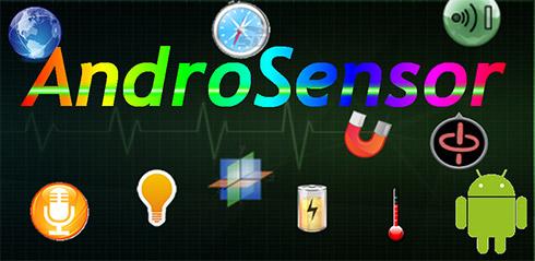 نرم افزار ژیروسکوپ (برای اندروید) - AndroSensor Donate 1.9 Android