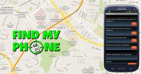 نرم افزار ردیابی گوشی سرقت شده (برای اندروید) - Find My Phone 4.8 Android
