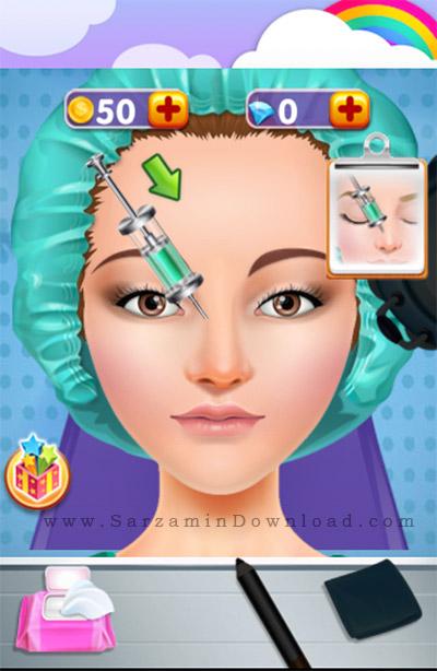 نرم افزار جراحی بینی (برای اندروید) - Plastic Surgery Simulator 1.2 Android