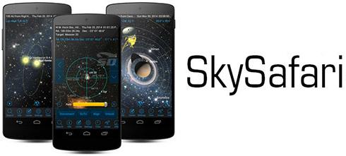 نرم افزار ستاره شناسی (برای اندروید) - SkySafari Pro 1.8 Android
