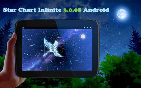 نرم افزار رصد ستارگان (برای اندروید) - Star Chart Infinite 3.0.08 Android