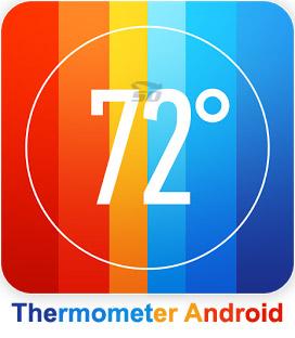 نرم افزار دما سنج (برای اندروید) - Thermometer Android