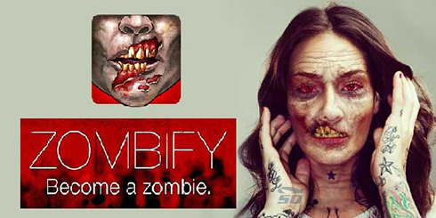 نرم افزار زشت کننده (برای اندروید) - Be a Zombie 1.4 Android