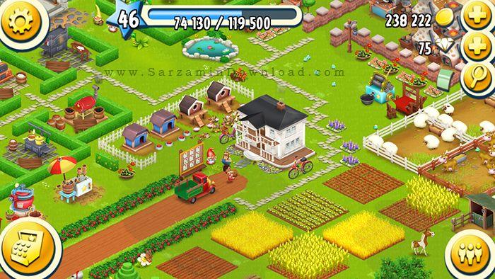 بازی مدیریت مزرعه (برای اندروید) - Hay Day 1.28.143 Android