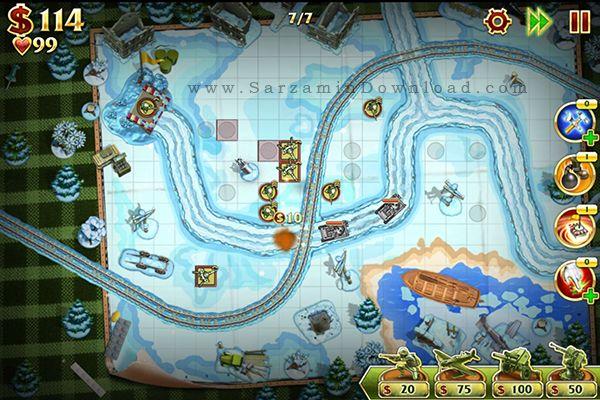 بازی دفاع از قلعه (برای اندروید) - Toy Defense 2 v.2.9.1 Android