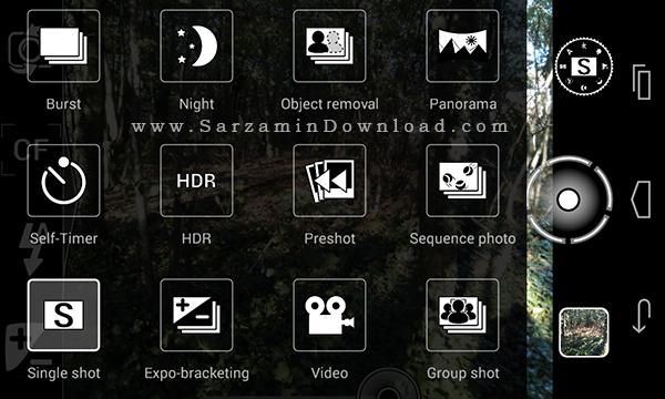 نرم افزار دوربین فوق حرفه ای (برای اندروید) - a Better Camera 3.38 Android