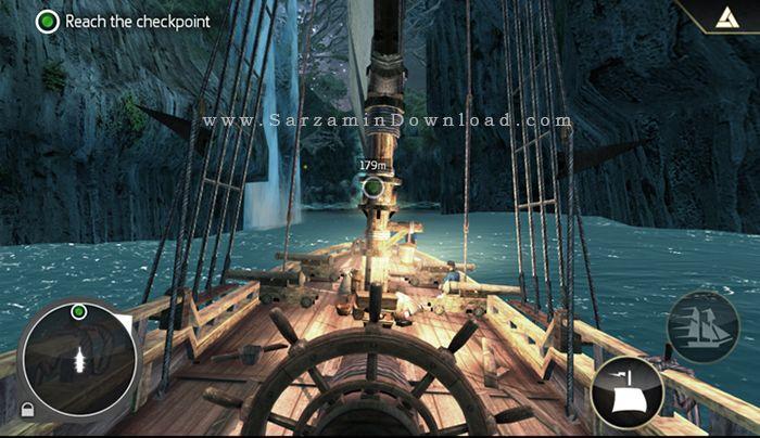 بازی اساسین کرید (برای اندروید) - Assassin's Creed Pirates 2.9 Android