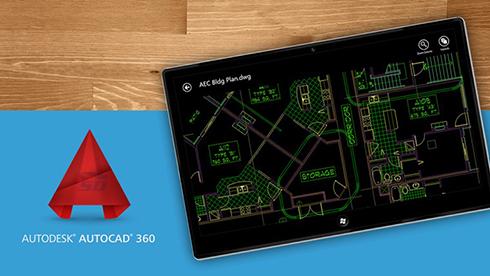 نرم افزار اتوکد (برای اندروید) - AutoCAD 360 v.4.0.2 Android