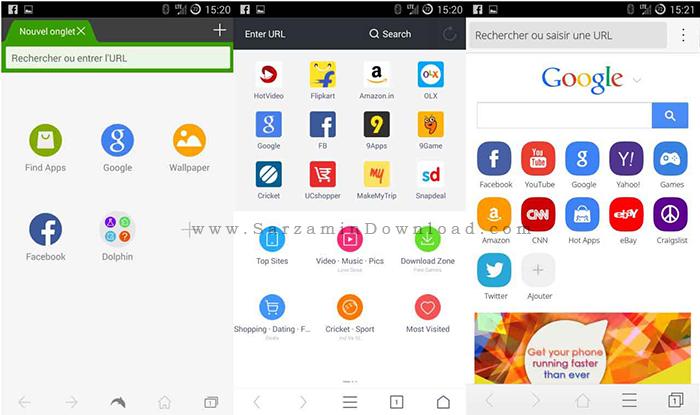 نرم افزار مرورگر وب CM (برای اندروید) - CM Browser 5.28 Android