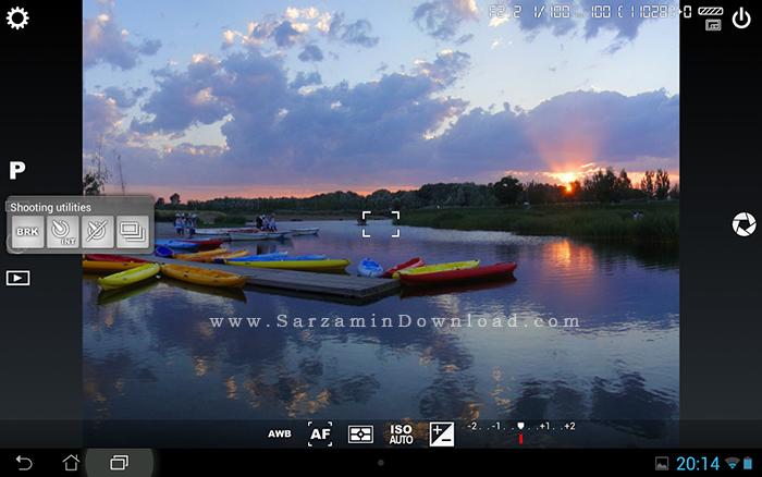 نرم افزار عکاسی حرفه ای (برای اندروید) - Camera FV 5 v.3.15.1 Android