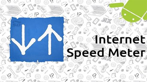 نرم افزار نمایش سرعت و مصرف اینترنت (برای اندروید) - Internet Speed Meter 2.8.5 Android