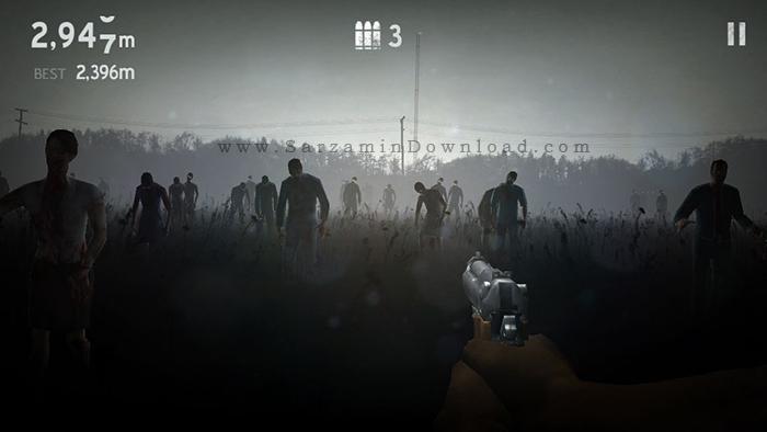 بازی به سوی مرگ (برای اندروید) - Into The Dead 2.2.2 Android