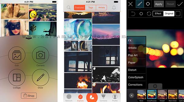 نرم افزار ویرایش تصاویر (برای اندروید) - PicsArt Photo Studio 5.19 Android