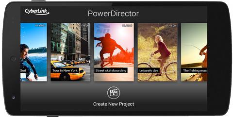نرم افزار ویرایش فیلم (برای اندروید) - PowerDirector 3.8 Android