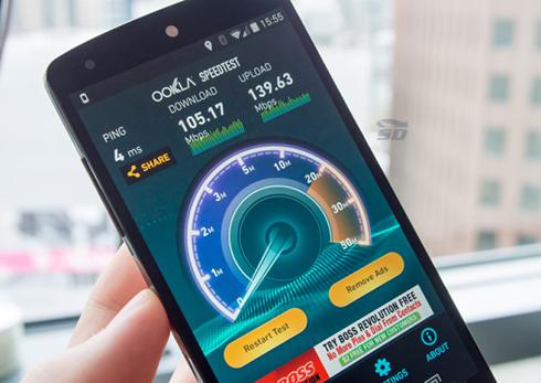 نرم افزار نمایش سرعت اینترنت (برای اندروید) - Speedtest.net Premium 3.2.18 Android