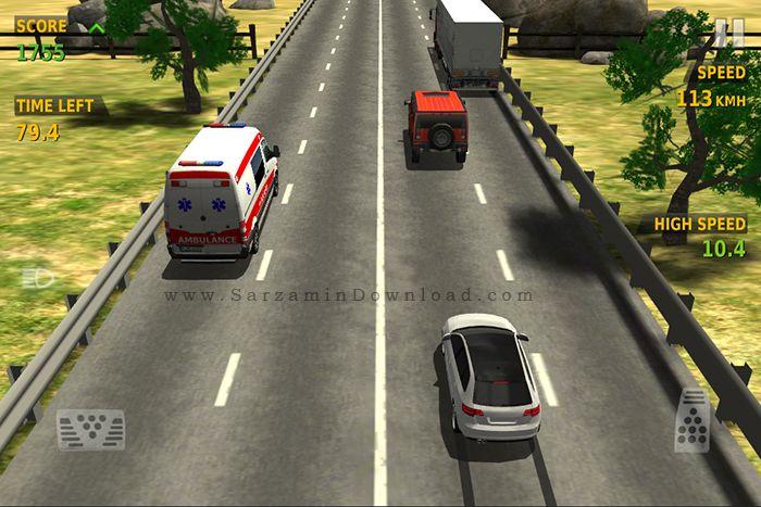 بازی مسابقات ترافیک (برای اندروید) - Traffic Racer 2.3 Android