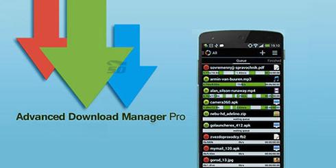 نرم افزار مدیریت دانلود (برای اندروید) - Advanced Download Manager Pro 5.1.1 Android