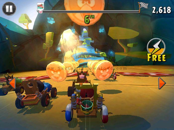 بازی مسابقات پرندگان خشمگین (برای اندروید) - Angry Birds Go 1.13.7 Android