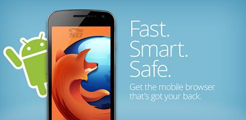 مرورگر فایرفاکس (برای اندروید) - Firefox Browser 45.0 Android