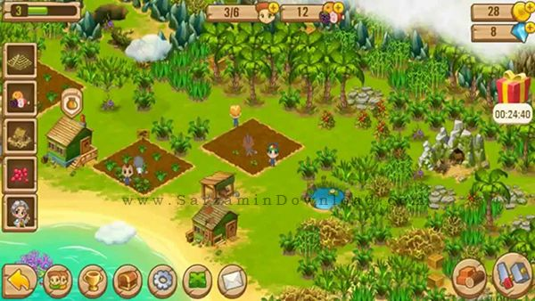 بازی فرار از جزیره (برای اندروید) - Island Experiment 4.0223 Android