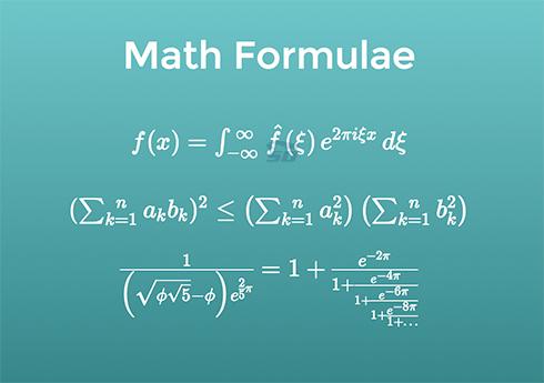 نرم افزار فرمول های ریاضی (برای اندروید) - Maths Formulas 9.0 Android