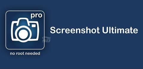 نرم افزار عکس گرفتن از صفحه گوشی (برای اندروید) - Screenshot Ultimate Pro 2.9.24 Android