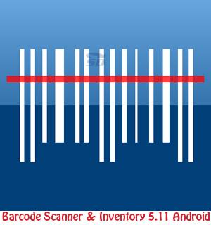 نرم افزار بارکدخوان (برای اندروید) - Barcode Scanner & Inventory 5.11 Android