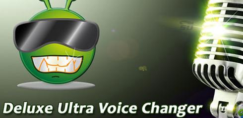 نرم افزار تغییر صدا (برای اندروید) - Deluxe Ultra Voice Changer 1.10 Android