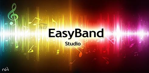 نرم افزار حرفه ای آهنگسازی (برای اندروید) - EasyBand Studio 1.0.6 Android