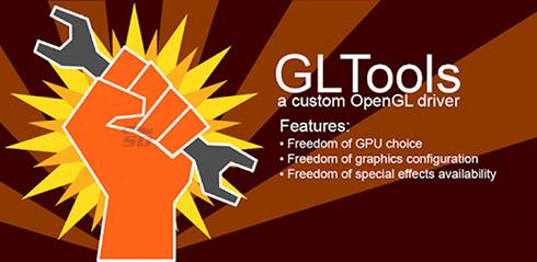 نرم افزار افزایش گرافیک (برای اندروید) - GLTools 1.99 Android