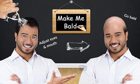 نرم افزار کچل کننده (برای اندروید) - Make Me Bald 2.0 Android