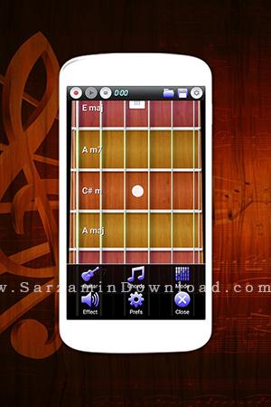 نرم افزار گیتار (برای اندروید) - Real Guitar Pro 2.3.5 Android