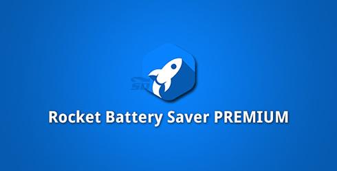 نرم افزار افزایش عمر باتری (برای اندروید) - Rocket Battery Saver 1.39 Android