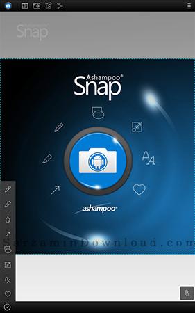 نرم افزار عکس گرفتن از صفحه گوشی (برای اندروید) - Screenshot Snap 1.2.2 Android
