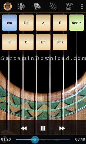 نرم افزار گیتار (برای اندروید) - Solo 1.70 Android