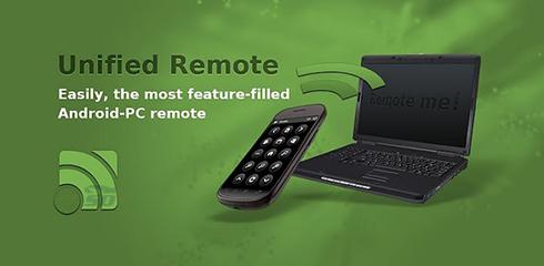 نرم افزار ریموت دسکتاپ (برای اندروید) - Unified Remote 3.5.3 Android