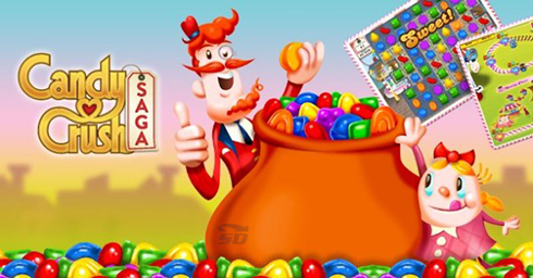 بازی کندی کراش (برای اندروید) - Candy Crush Saga 1.73 Android