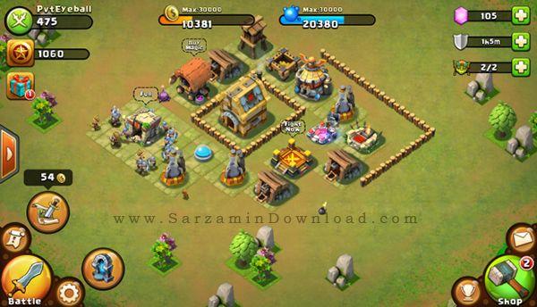 دانلود بازی کستل کلش (برای اندروید) - Castle Clash 1.2.95 Android - دانلود رایگان  -  دیجی دانلود