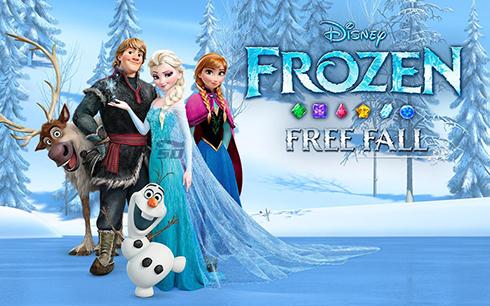 بازی یخ زده (برای اندروید) - Frozen Free Fall 3.8.2 Android