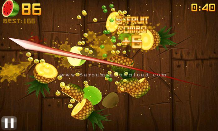 بازی فروت نینجا (برای اندروید) - Fruit Ninja 2.3.4 Android