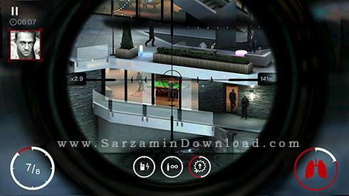 بازی هیتمن (برای اندروید) - Hitman Sniper 1.5 Android