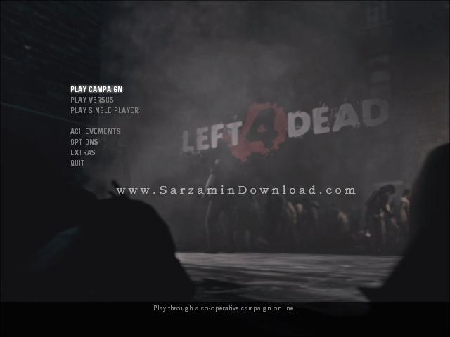 بازی لفت فور دد (برای کامپیوتر) - Left 4 Dead PC Game