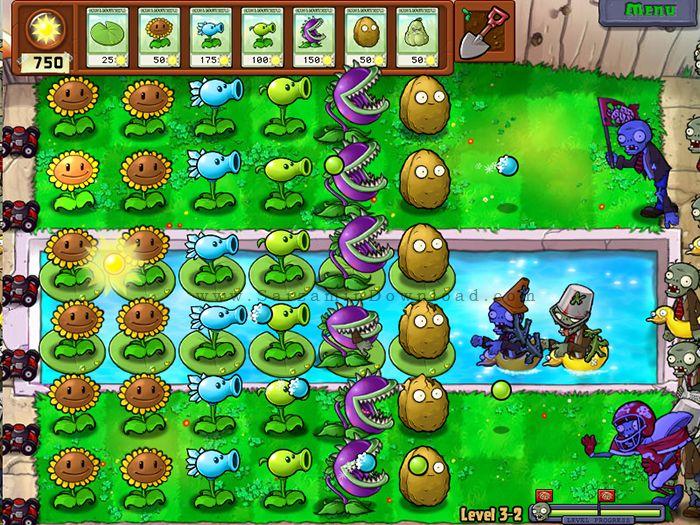 بازی زامبی و گیاهان (برای اندروید) - Plants vs. Zombies 6.2 Android