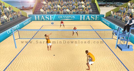 بازی والیبال (برای اندروید) - Beach Volleyball World Cup 1.0 Android